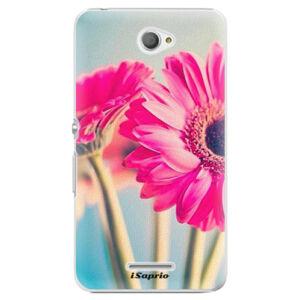 Plastové puzdro iSaprio - Flowers 11 - Sony Xperia E4
