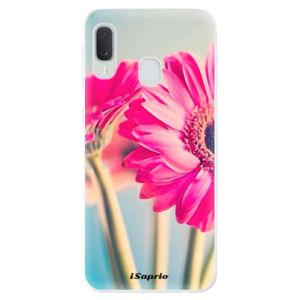 Odolné silikónové puzdro iSaprio - Flowers 11 - Samsung Galaxy A20e