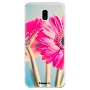 Odolné silikónové puzdro iSaprio - Flowers 11 - Samsung Galaxy J6+