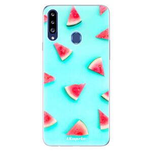 Odolné silikónové puzdro iSaprio - Melon Patern 10 - Samsung Galaxy A20s