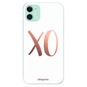 Odolné silikónové puzdro iSaprio - XO 01 - iPhone 11
