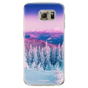 Plastové puzdro iSaprio - Winter 01 - Samsung Galaxy S6 Edge Plus
