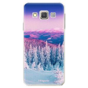 Plastové puzdro iSaprio - Winter 01 - Samsung Galaxy A7
