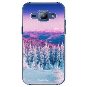 Plastové puzdro iSaprio - Winter 01 - Samsung Galaxy J1