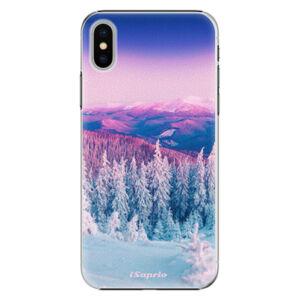 Plastové puzdro iSaprio - Winter 01 - iPhone X