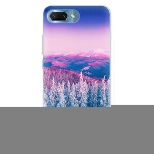 Silikónové puzdro iSaprio - Winter 01 - Huawei Honor 10