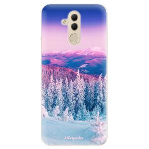 Silikónové puzdro iSaprio - Winter 01 - Huawei Mate 20 Lite