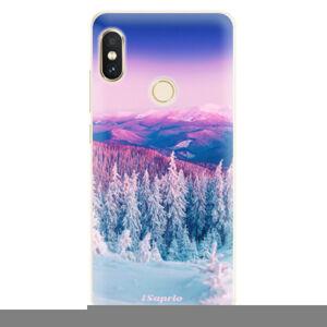 Silikónové puzdro iSaprio - Winter 01 - Xiaomi Redmi Note 5