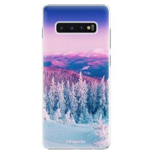 Plastové puzdro iSaprio - Winter 01 - Samsung Galaxy S10+