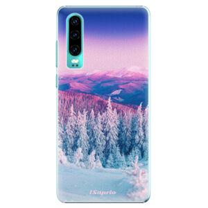 Plastové puzdro iSaprio - Winter 01 - Huawei P30