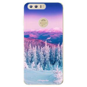 Odolné silikónové puzdro iSaprio - Winter 01 - Huawei Honor 8