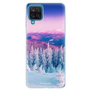 Odolné silikónové puzdro iSaprio - Winter 01 - Samsung Galaxy A12