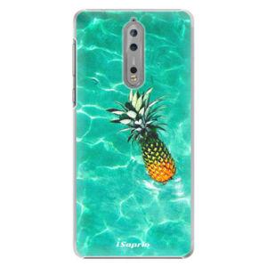 Plastové puzdro iSaprio - Pineapple 10 - Nokia 8