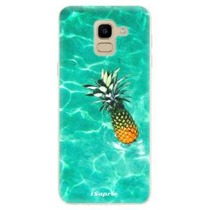 Odolné silikónové puzdro iSaprio - Pineapple 10 - Samsung Galaxy J6