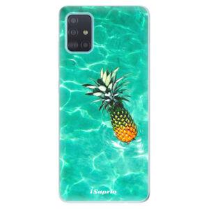 Odolné silikónové puzdro iSaprio - Pineapple 10 - Samsung Galaxy A51