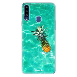 Odolné silikónové puzdro iSaprio - Pineapple 10 - Samsung Galaxy A20s