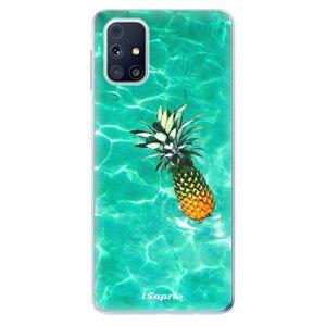 Odolné silikónové puzdro iSaprio - Pineapple 10 - Samsung Galaxy M31s