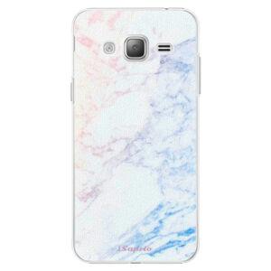 Plastové puzdro iSaprio - Raibow Marble 10 - Samsung Galaxy J3