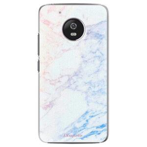 Plastové puzdro iSaprio - Raibow Marble 10 - Lenovo Moto G5