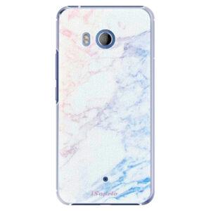 Plastové puzdro iSaprio - Raibow Marble 10 - HTC U11