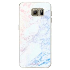 Silikónové puzdro iSaprio - Raibow Marble 10 - Samsung Galaxy S6 Edge