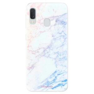 Odolné silikónové puzdro iSaprio - Raibow Marble 10 - Samsung Galaxy A20e