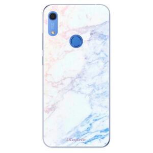 Odolné silikónové puzdro iSaprio - Raibow Marble 10 - Huawei Y6s