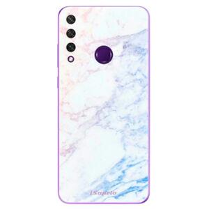 Odolné silikónové puzdro iSaprio - Raibow Marble 10 - Huawei Y6p