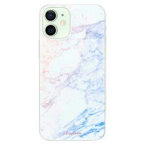 Odolné silikónové puzdro iSaprio - Raibow Marble 10 - iPhone 12