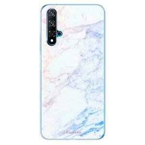 Odolné silikónové puzdro iSaprio - Raibow Marble 10 - Huawei Nova 5T