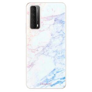 Odolné silikónové puzdro iSaprio - Raibow Marble 10 - Huawei P Smart 2021