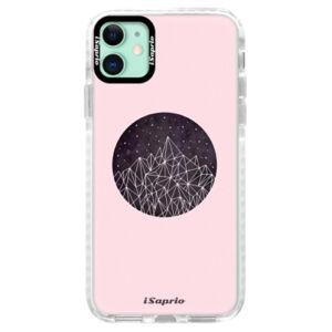 Silikónové puzdro Bumper iSaprio - Digital Mountains 10 - iPhone 11