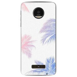 Plastové puzdro iSaprio - Digital Palms 10 - Lenovo Moto Z