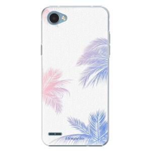 Plastové puzdro iSaprio - Digital Palms 10 - LG Q6