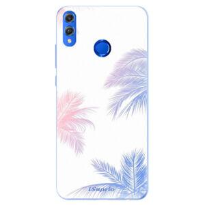 Silikónové puzdro iSaprio - Digital Palms 10 - Huawei Honor 8X