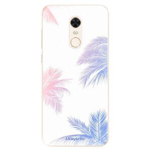 Silikónové puzdro iSaprio - Digital Palms 10 - Xiaomi Redmi 5 Plus