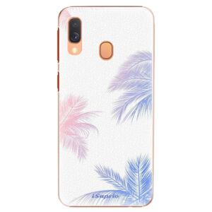 Plastové puzdro iSaprio - Digital Palms 10 - Samsung Galaxy A40