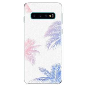 Plastové puzdro iSaprio - Digital Palms 10 - Samsung Galaxy S10