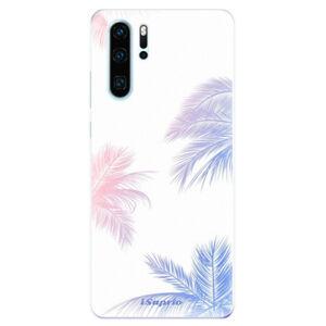 Odolné silikonové pouzdro iSaprio - Digital Palms 10 - Huawei P30 Pro