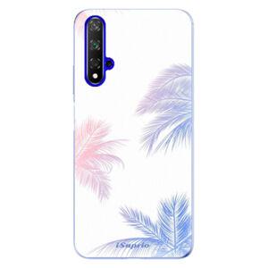 Odolné silikónové puzdro iSaprio - Digital Palms 10 - Huawei Honor 20