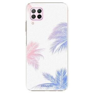 Plastové puzdro iSaprio - Digital Palms 10 - Huawei P40 Lite