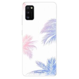 Odolné silikónové puzdro iSaprio - Digital Palms 10 - Samsung Galaxy A41