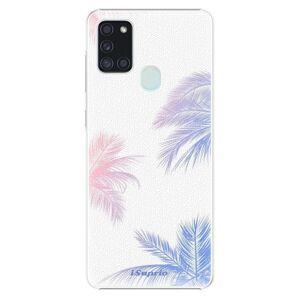 Plastové puzdro iSaprio - Digital Palms 10 - Samsung Galaxy A21s