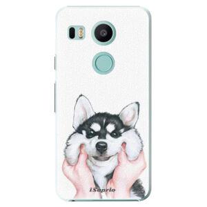 Plastové puzdro iSaprio - Malamute 01 - LG Nexus 5X