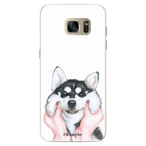 Silikónové puzdro iSaprio - Malamute 01 - Samsung Galaxy S7 Edge