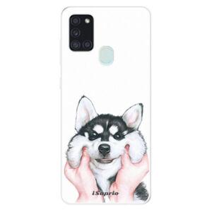 Odolné silikónové puzdro iSaprio - Malamute 01 - Samsung Galaxy A21s