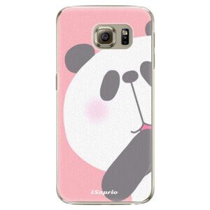 Plastové puzdro iSaprio - Panda 01 - Samsung Galaxy S6