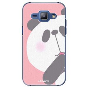 Plastové puzdro iSaprio - Panda 01 - Samsung Galaxy J1