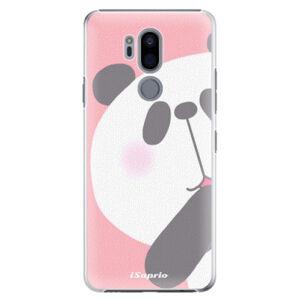 Plastové puzdro iSaprio - Panda 01 - LG G7