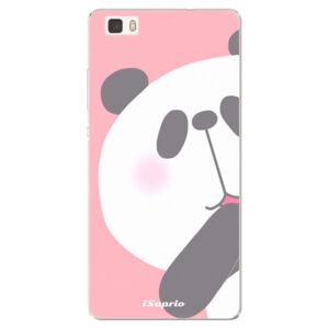 Silikónové puzdro iSaprio - Panda 01 - Huawei Ascend P8 Lite